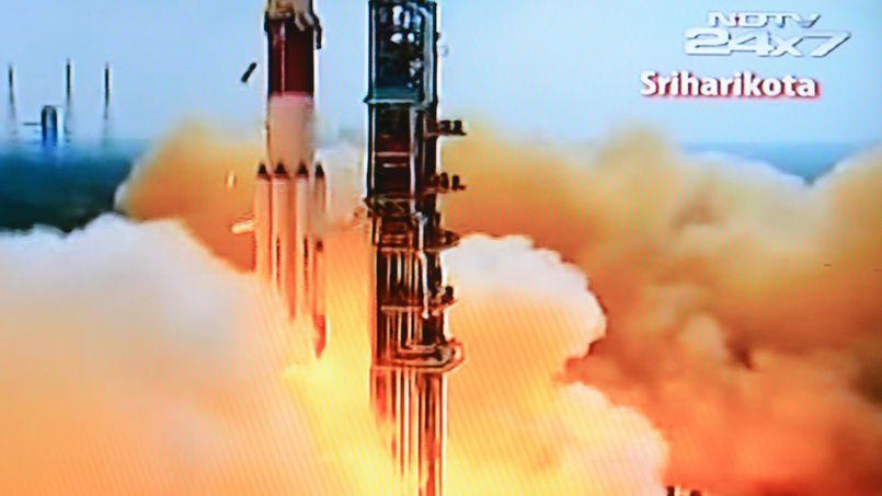 Une sonde indienne en route vers Mars