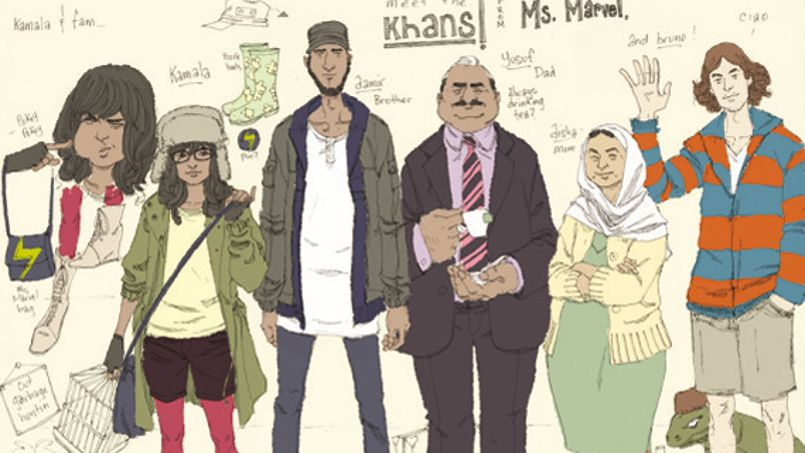 Marvel presents its first muslim hero