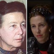 Kiberlain, fascinante Simone de Beauvoir