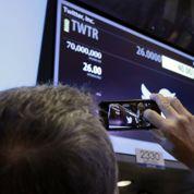 Twitter débute en fanfare à la Bourse de New York