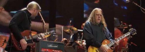 The Allman Brothers chez Clapton