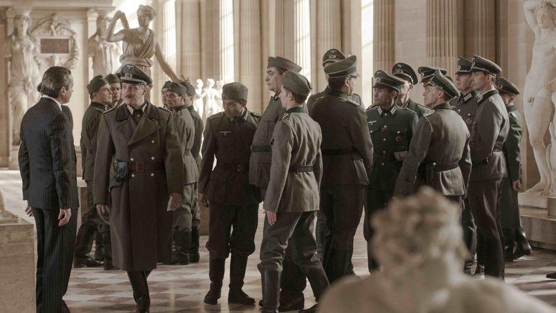 Sur le tournage du film <i>Francofonia,</i> d'Alexandre Sokourov.