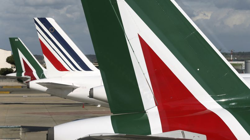 Air France-KLM ne volera pas au secours d'Alitalia