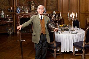 Michel Guyot a racheté en 1979, avec son frère Jacques, le château de Saint-Fargeau.