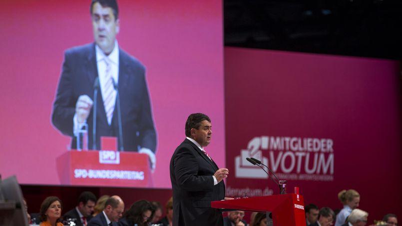 Sigmar Gabriel, nouveau champion du SPD