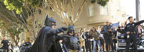San Francisco aux couleurs de Batman pour un enfant malade