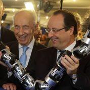 Hollande veut surfer sur la high-tech israélienne