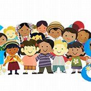 Les droits des enfants fêtés par les Nations unies et par Google