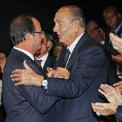 L'émouvant hommage de Hollande à Chirac