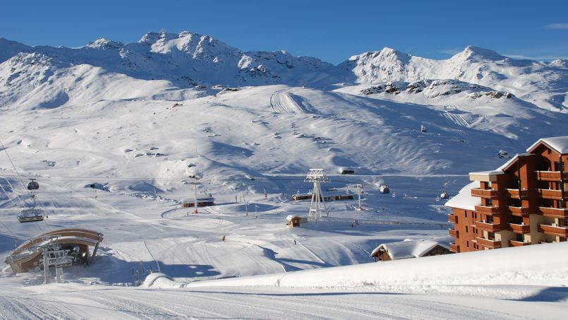 Val Thorens, station la plus haute d'Europe