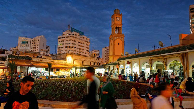 Le quartier de l'ancienne médina offre un étonnant contraste avec l'architecture de la ville nouvelle toute proche.