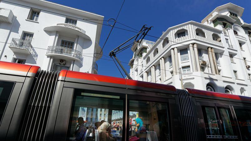 Le nouveau tramway, inauguré en décembre 2012, remporte un succès fulgurant. 80 000 passagers l'empruntent chaque jour.