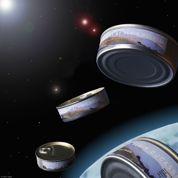 Des boîtes de conserve made in France bientôt dans l'espace