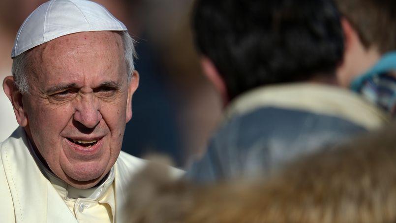 Le pape François au Vatican, le 4 décembre.