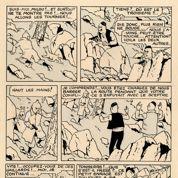 Vente BD: Hergé superstar brandit toujours son Sceptre