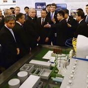 À Pékin, Ayrault fait l'éloge du nucléaire