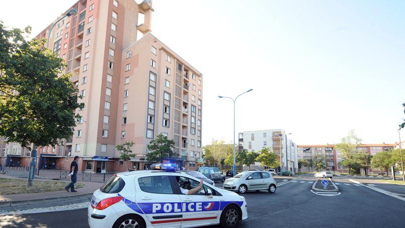 Le quartier sensible du Mirail, l'une des deux ZSP toulousaines, avec les Izards, en août 2012.