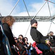 Metallica réchauffe la calotte glaciaire en Antarctique