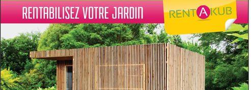 Une cabane en bois à louer pour rentabiliser son jardin