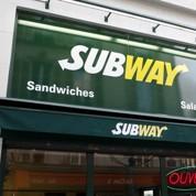 Subway avance à marche forcée