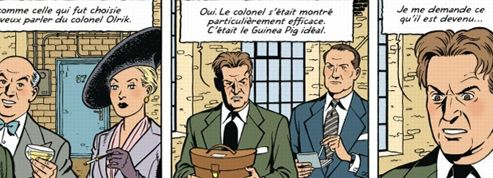 Blacksad le chat cherche Kerouac le lion