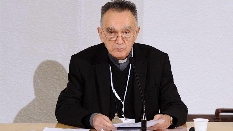 Mgr Georges Pontier, Archevêque de Marseille, Président de la conférence des évêques de France, le 5 novembre 2013.
