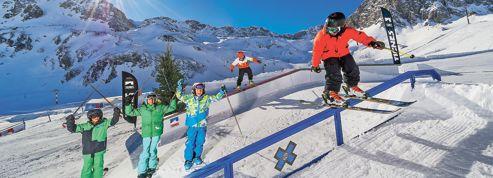 Skiez freestyle avec les champions français