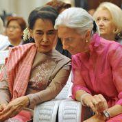 Offensive économique française à Rangoun