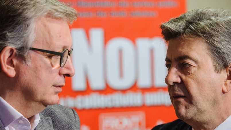 Jean-Luc Mélenchon refuse le leadership européen de Pierre Laurent