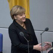 Merkel chancelière «avec l'aide de Dieu»