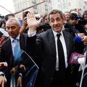 Sarkozy, «force tranquille» pour la jeune garde de l'UMP