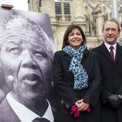 Un jardin «Nelson Mandela» inauguré à Paris