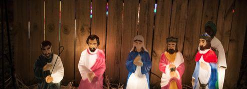 Installée dans une gare, une crèche de Noël sème la zizanie
