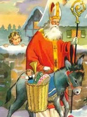 De saint nicolas santa claus la riche histoire du p re no l - Image de saint nicolas a imprimer ...