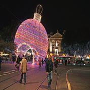 Les lumières de Noël, vitrine commerciale des énergéticiens
