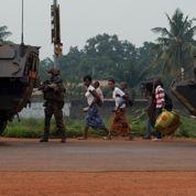 Démonstration de force française à Bangui