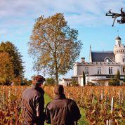 Les vignobles Bernard Magrez s'équipent d'un drone