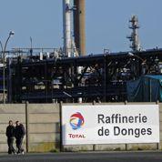 Fin de la grève des raffineries Total