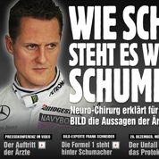 Schumacher : l'Allemagne «bouleversée»