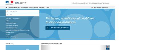 Sur Data.gouv.fr, l'accès aux données publiques devient collaboratif