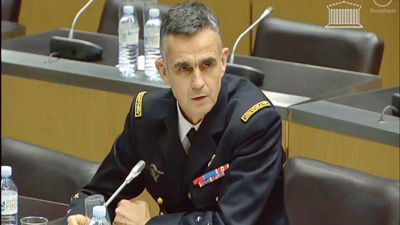 Le général Bertrand Soubelet, le 18 décembre, devant la commission parlementaire de «lutte contre l'insécurité».