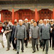 1973, M. Pompidou accueilli à Pékin comme un ami