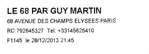 Guy Martin chez Guerlain, Merlin à sa main