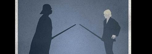 Dark Vador, Tarzan et Hitchcock en version érotique