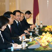 2009, Sarkozy et Hu Jintao se retrouvent en marge du G20