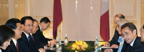 2009, Nicolas Sarkozy et Hu Jintao se retrouvent en marge du G20