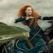 Jessica Chastain, belle et rebelle Merida