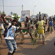 Une folle journée entre liesse et peur dans les rues de Bangui