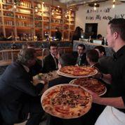 La pizza a coûté plus de dix euros en 2013
