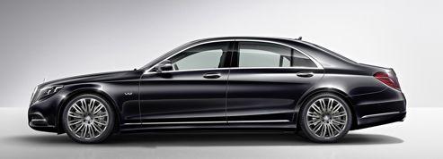 Mercedes S600, place au V12